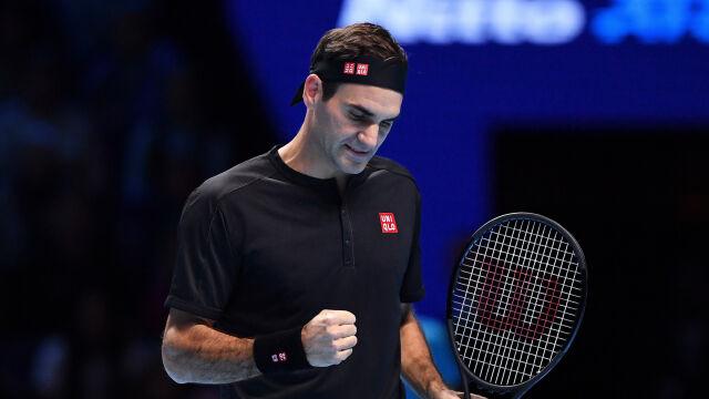 Przebudzenie Rogera Federera. Podtrzymał niesamowitą passę