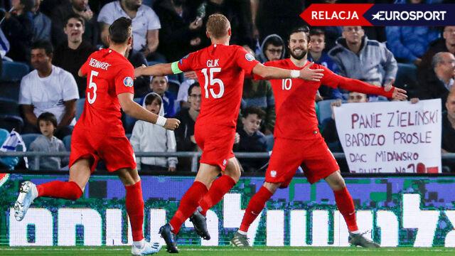 Szybki gol napędził Polaków. Dominują nad Izraelem