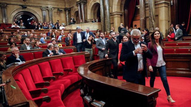 Parlament Katalonii zablokował ustawę w sprawie secesji