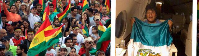 Morales otrzymał azyl polityczny