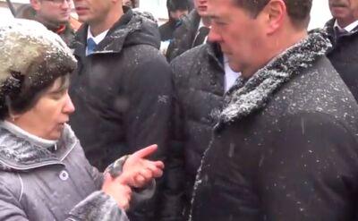 Premier Miedwiediew z wizytą w Kraju Ałtajskim