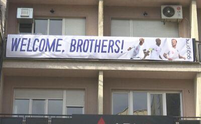 Angielscy kibice pięknie przywitani w Kosowie