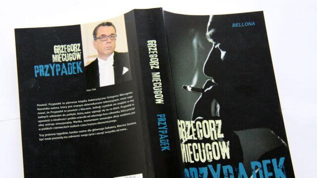 """Grzegorz Miecugow o swojej książce """"Przypadek"""""""