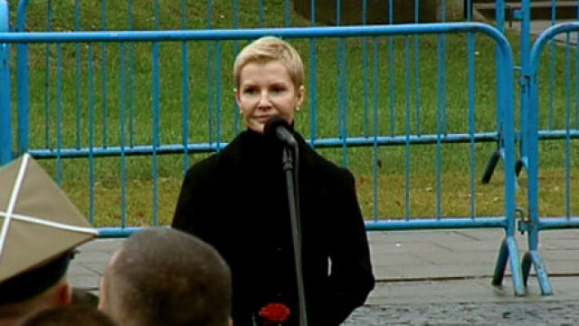 Przemówienie Joanny Racewicz