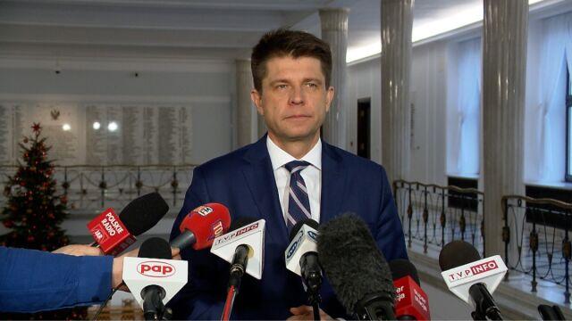 Petru: jutro zwołałem zarząd Nowoczesnej, aby podjąć decyzję, co robimy 11 stycznia
