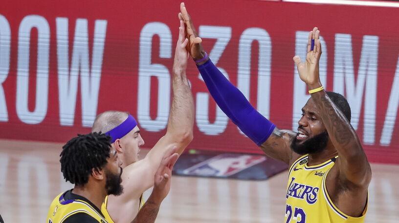 Pierwszy krok wykonany. Los Angeles Lakers bliżej wielkiego finału