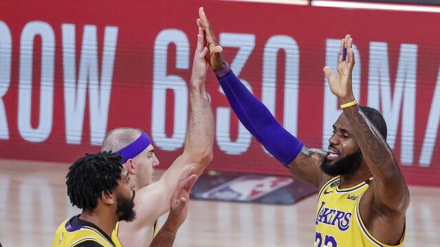 Pierwszy krok wykonany. Lakers bliżej wielkiego finału