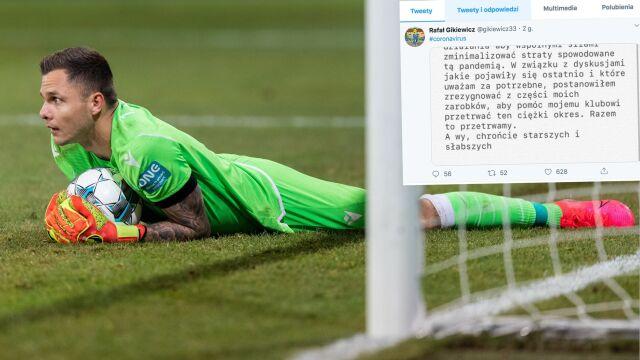 Wielki gest polskiego piłkarza Bundesligi. Zrzekł się części zarobków