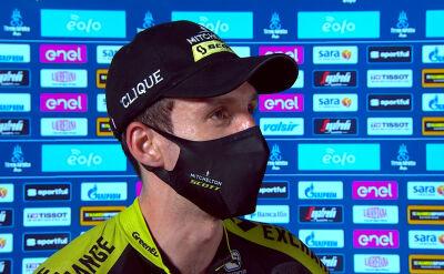 Simon Yates po wygraniu Tirreno-Adriatico
