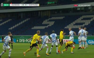 Puchar Niemiec. Duisburg - Borussia Dortmund 0:4. Gol Axel Witsel