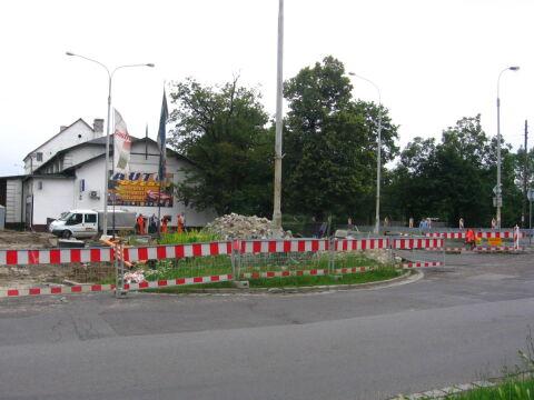 Okolice dworca Wrocław-Psie Pole