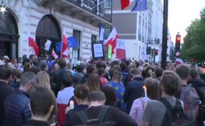 Londyn też protestował