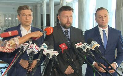 Będzie informacja w sprawie nagród dla ministrów. Posłowie PO weszli do kancelarii premiera