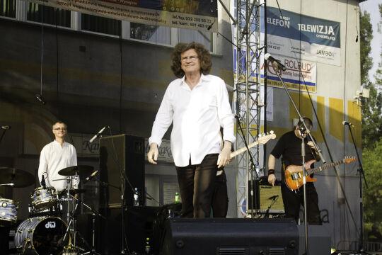 Zbigniew Wodecki podczas koncertu w 2010 roku