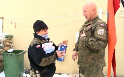 Pieniądze na WOŚP zbierają też polscy żołnierze w Afganistanie