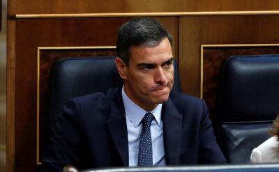 Rząd Pedra Sancheza bez wotum zaufania w parlamencie