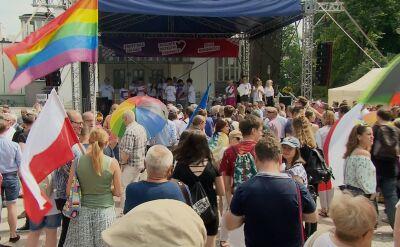 """Marsz """"Polska przeciw przmocy"""" w Białymstoku"""