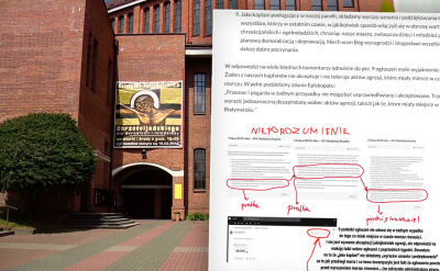 Białostocka parafia: ogłoszenia z podziękowaniami powstały przed wyruszeniem Marszu Eówności
