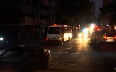 Wenezuela pogrążona w ciemnościach. Brak prądu