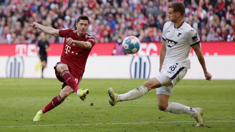 Gol Polaka niezwykłej urody. Bayern w sobotę się zabawił