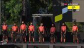 CCC Team podczas prezentacji zespołów przed Tour de France 2020