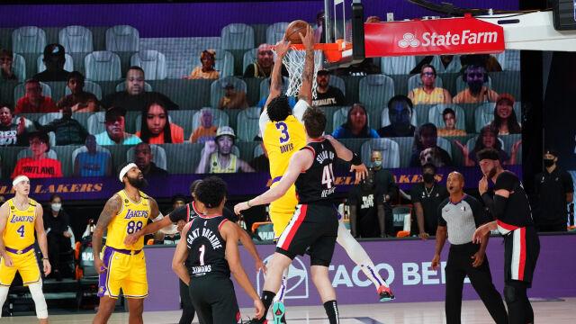 Popis duetu z Lakers. W NBA faworyci grają dalej