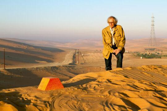 Christo i Mastaba w skali w miniaturze, 2011 rok