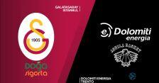 Skrót meczu Galatasaray - Dolomiti Energia Trento w 6. kolejce Pucharu Europy