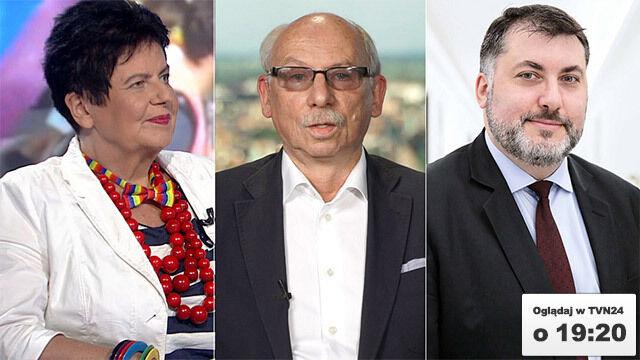 """Janusz Lewandowski, Joanna Senyszyn i Artur Dziambor gośćmi """"Faktów po Faktach"""""""