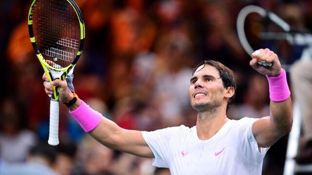 Nadal zapowiada walkę o premierowe zwycięstwo w ATP Finals