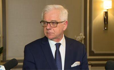 Czaputowicz: gdyby nie zjednoczenie Niemiec, Polska nie byłaby w Unii Europejskiej