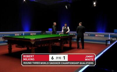 Jimmy White przegrał w 3. rundzie kwalifikacji do mistrzostw świata
