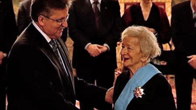 Szymborska na Wawelu odebrała Orła Białego