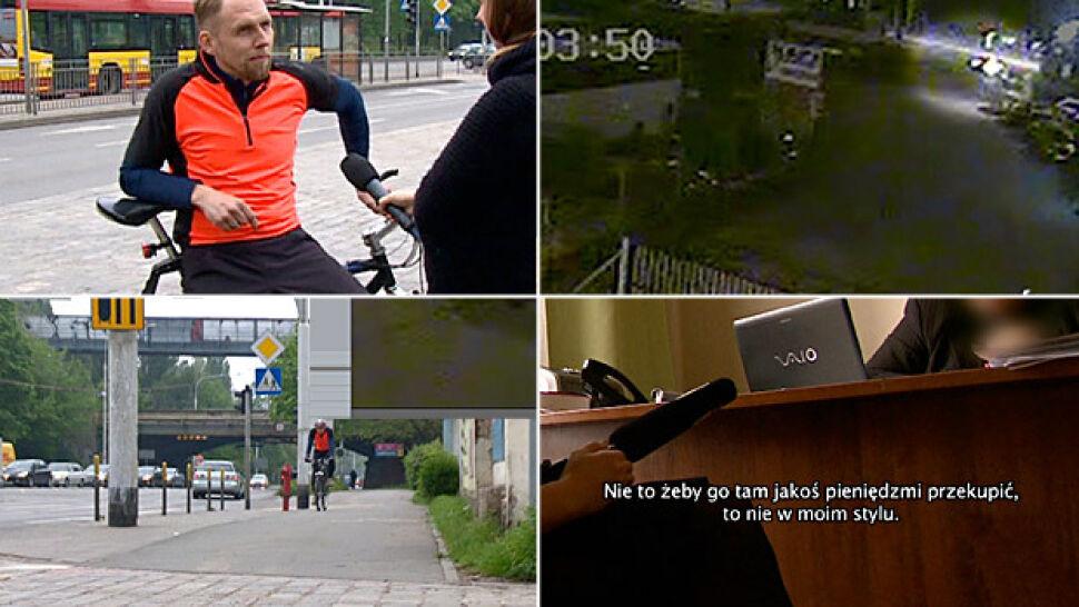 Sędzia, który wjechał w rowerzystę: to nie wyjdzie do sądu