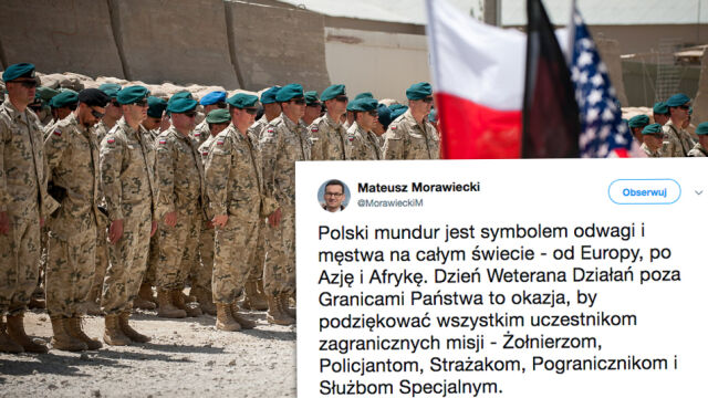 """""""Polski mundur jest symbolem odwagi i męstwa na całym świecie"""""""