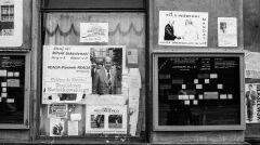 Plakaty wyborcze na Żoliborzu 3 czerwca 1989