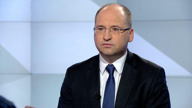 Adam Bielan o rekonstrukcji rządu po wyborach do europarlamentu