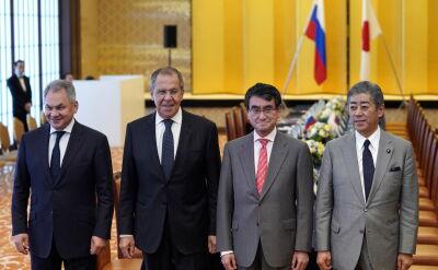 Spotkanie ministrów obrony oraz szefów dyplomacji Japonii i Rosji