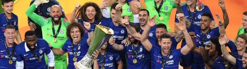 Grad goli w finale Ligi Europy. Chelsea zmiotła Arsenal