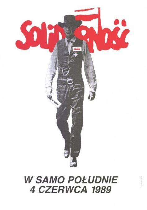 Plakat autorstwa Tomasz Sarneckiego