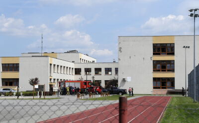 Do ataku doszło na terenie szkoły w Brześciu Kujawskim
