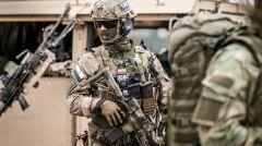 Żołnierze na ćwiczeniach
