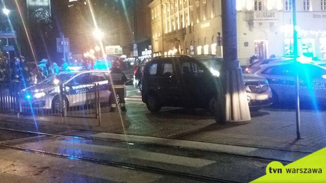 Dwa poważne zdarzenia na warszawskich ulicach. Dwaj kierowcy pijani