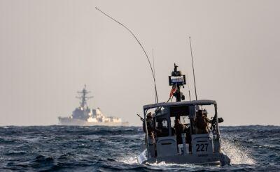 Amerykanie przejęli okręt z bronią na Morzu Arabskim