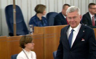 Karczewski pełnił płatne dyżury w szpitalu podczas bezpłatnego urlopu
