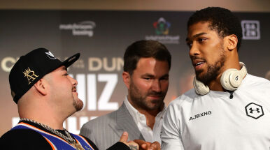 Ruiz i Joshua gotowi do bitwy.