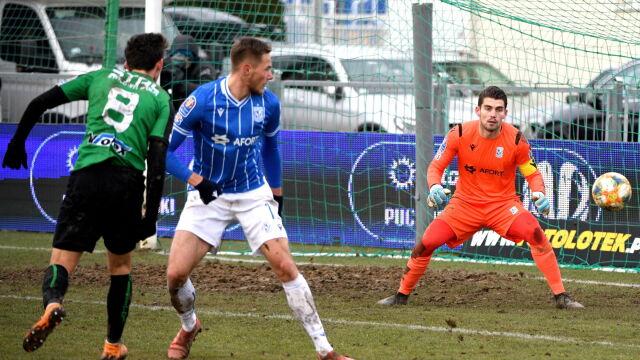 Stal częściej strzelała, Lech zdobywał gole. Kolejorz w ćwierćfinale Pucharu Polski