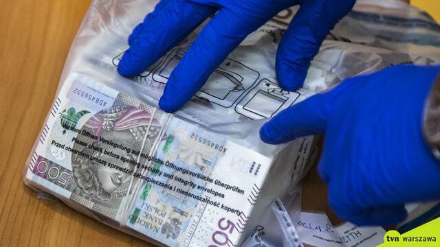 Kilogramy narkotyków, broń  i kilkaset tysięcy złotych