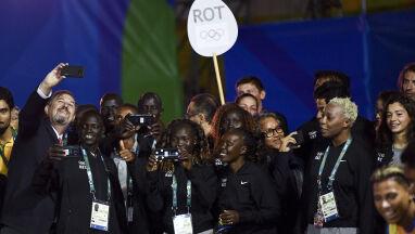 Uchodźcy wyróżnieni. Wyjątkowa ceremonia otwarcia igrzysk w Tokio