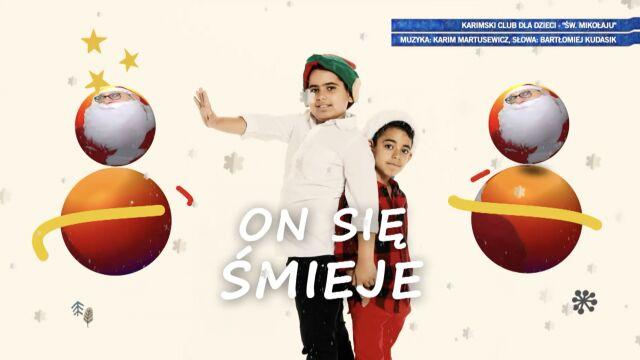 płyta z kolędami przygotowana przez Karimski Club dla dzieci